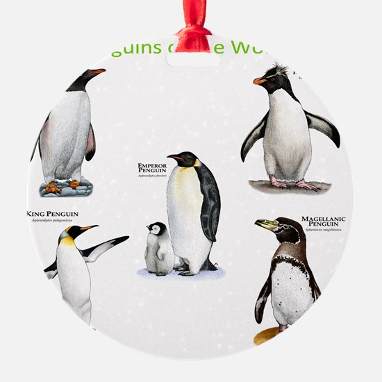 Penguins of the World Ornament
