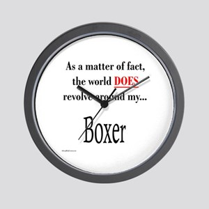 Boxer World Wall Clock
