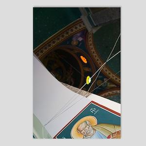 Kokkari: Interior of Town Postcards (Package of 8)