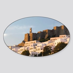 Hora: Monastery of St. John the The Sticker (Oval)