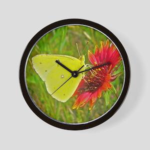 butterfly5 Wall Clock