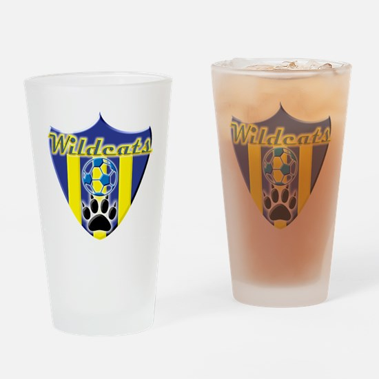 WildcatsSheild1.3 Drinking Glass