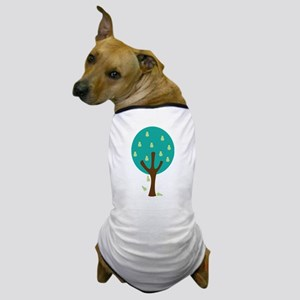 Organic Pear Tree Dog T-Shirt