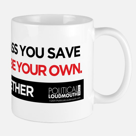 JOIN US - ASS YOU SAVE - Bumper Sticker Mug