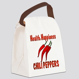 HappinessChili Canvas Lunch Bag