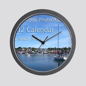 Cover2012 Wall Clock