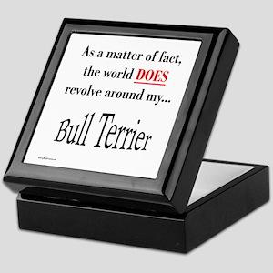 Bull Terrier World Keepsake Box