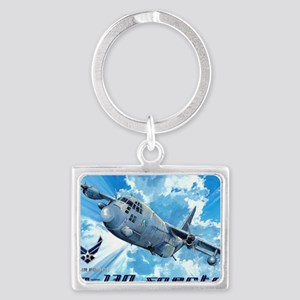 Air Force AC-130 Spectre Landscape Keychain