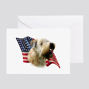Wheaten Flag Greeting Cards (Pk of 10)