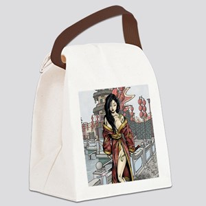 PinupCal12JAN Canvas Lunch Bag