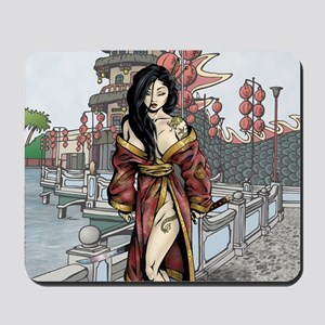 PinupCal12JAN Mousepad