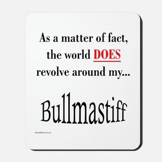 Bullmastiff World Mousepad