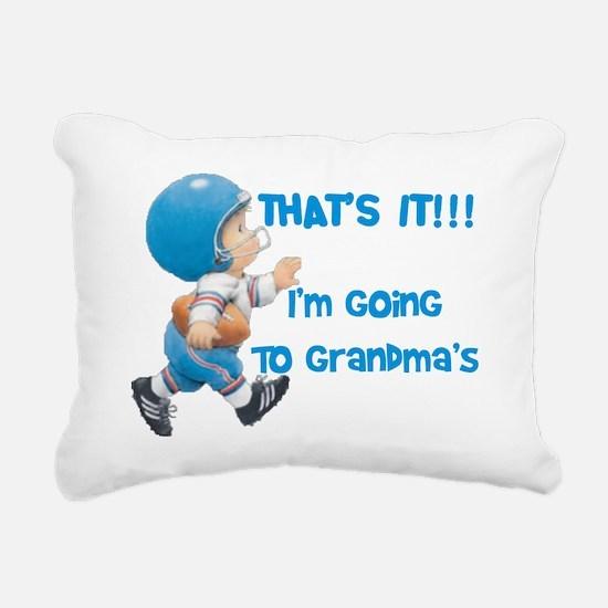 Im Going To Grandmas Rectangular Canvas Pillow