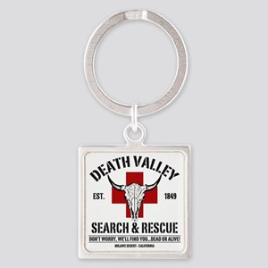 DEATH VALLEY RESCUEc Square Keychain