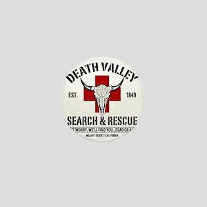 DEATH VALLEY RESCUEc Mini Button