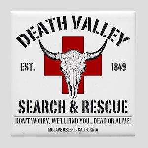DEATH VALLEY RESCUEc Tile Coaster