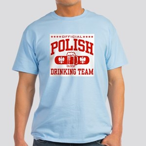 Polish Drinking Team Light T-Shirt