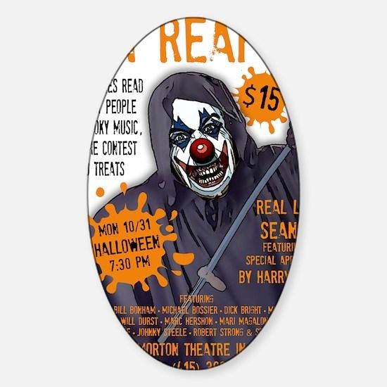 grin_reaper4a Sticker (Oval)