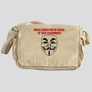 V Mask KO Messenger Bag
