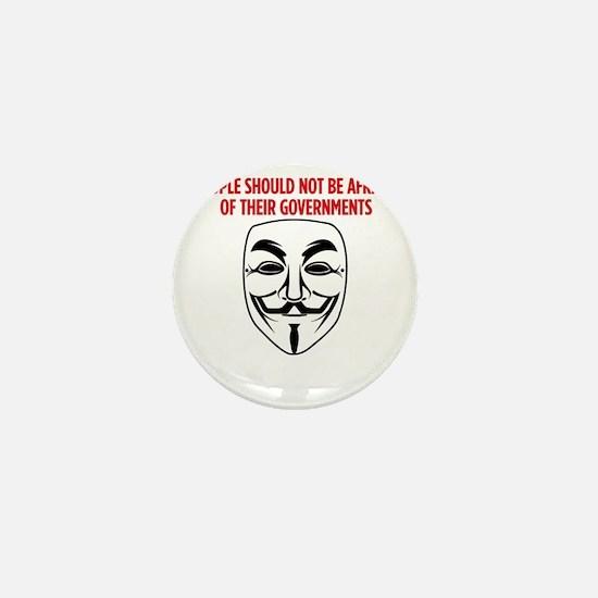 V Mask KO Mini Button
