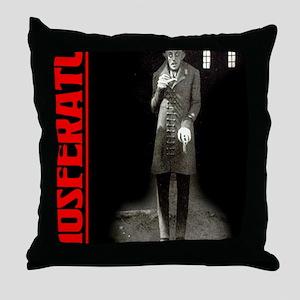 Nosferatu-02 Throw Pillow