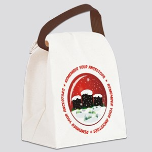 Remember Your Ancestors Canvas Lunch Bag