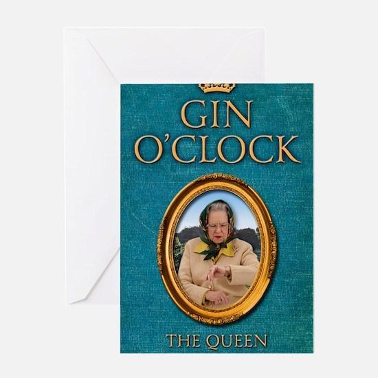 Gin OClock book Greeting Card