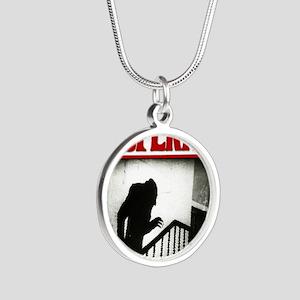 Nosferatu-01 Silver Round Necklace