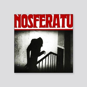 "Nosferatu-01 Square Sticker 3"" x 3"""