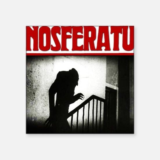 """Nosferatu-01 Square Sticker 3"""" x 3"""""""