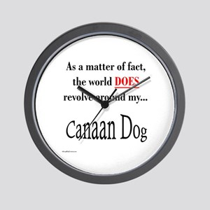 Canaan Dog World Wall Clock