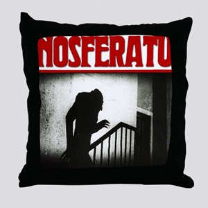 Nosferatu-01 Throw Pillow