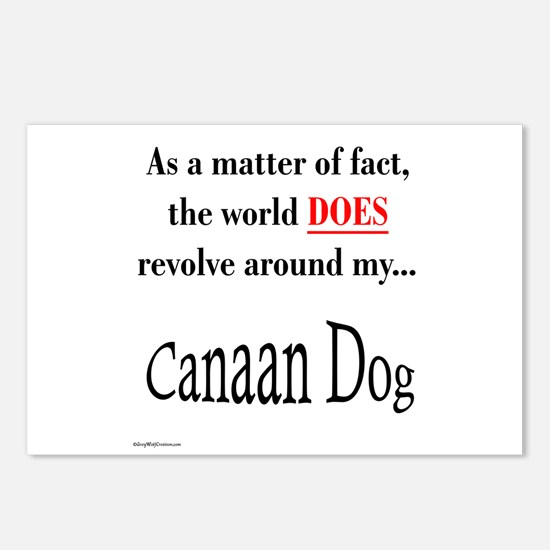 Canaan Dog World Postcards (Package of 8)