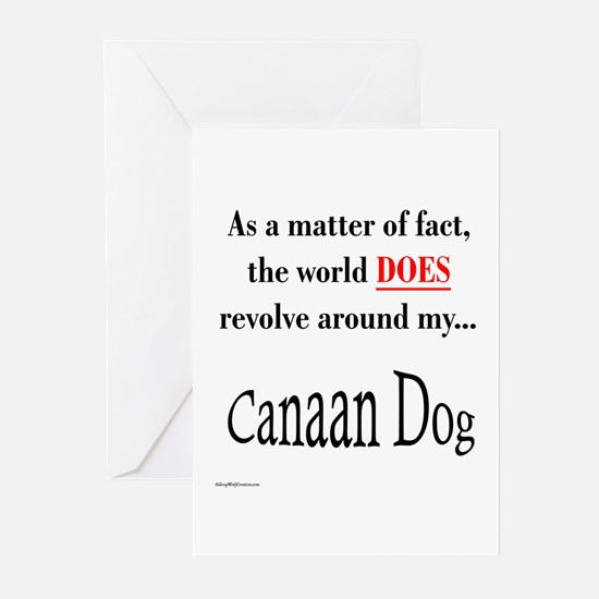Canaan Dog World Greeting Cards (Pk of 10)