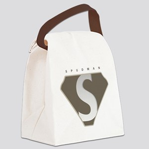 spudman_V2 Canvas Lunch Bag