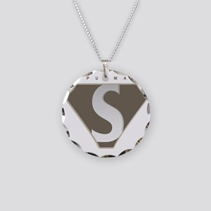 spudman_V2 Necklace Circle Charm