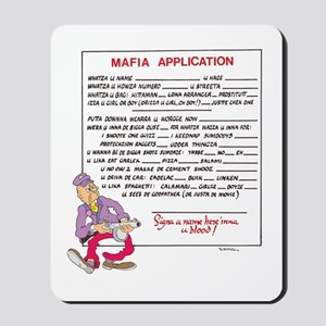 MAFIA APPLICATION Mousepad