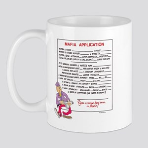 MAFIA APPLICATION Mug