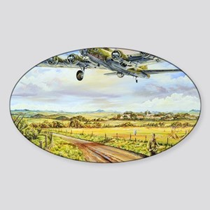 305th Bomb Group B-17 Flying Fortre Sticker (Oval)