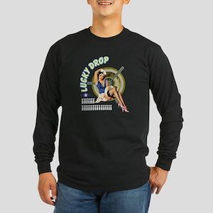 Lucky Drop Long Sleeve Dark T-Shirt