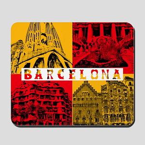Barcelona_10x10_apparel_AntoniGaudí_Red Mousepad