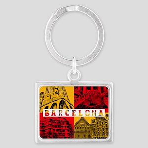 Barcelona_10x10_apparel_AntoniG Landscape Keychain