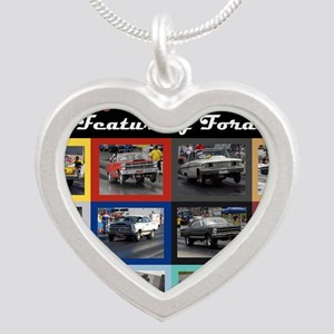 FordCover Silver Heart Necklace
