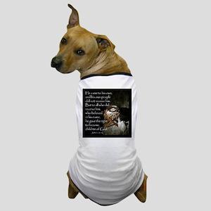 manger4 Dog T-Shirt