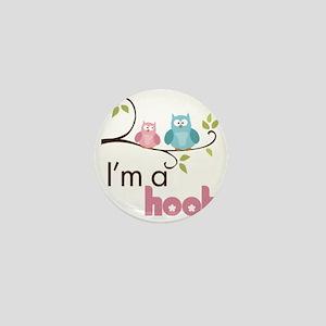 hootgirl Mini Button