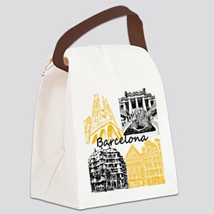 Barcelona_10x10_apparel_AntoniGau Canvas Lunch Bag
