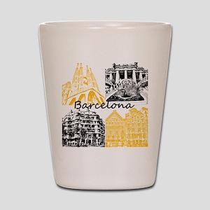 Barcelona_10x10_apparel_AntoniGaudí_Bl Shot Glass