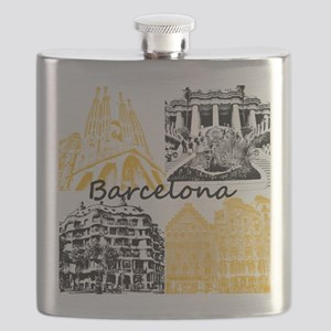 Barcelona_10x10_apparel_AntoniGaudí_BlackYe Flask