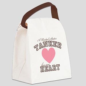 austankerhasmyheart Canvas Lunch Bag