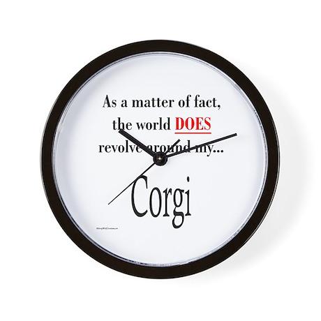 Corgi World Wall Clock
